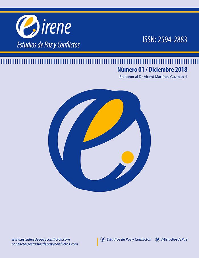 Revista Eirene - Número 1 - Diciembre 2018